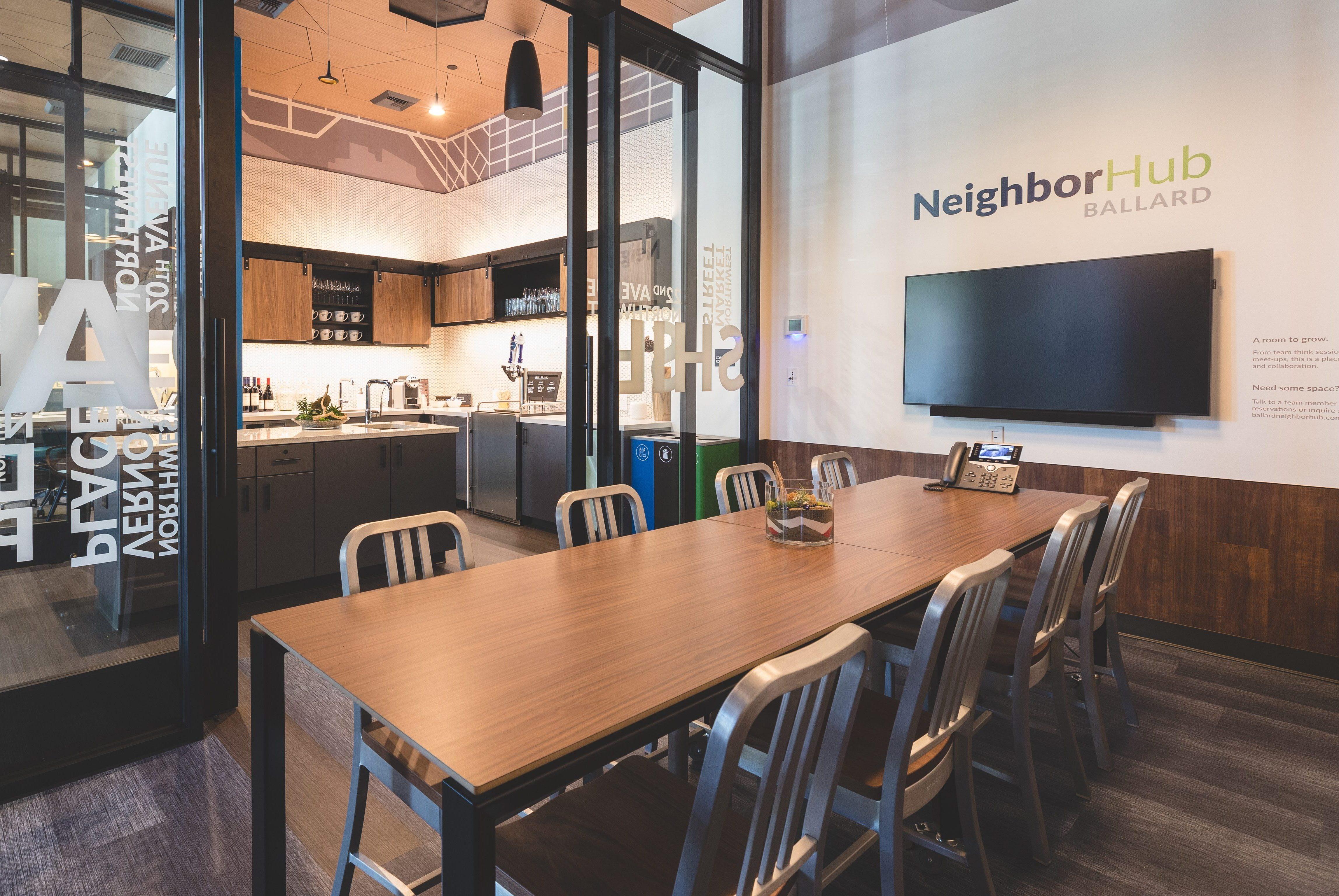NeighborHub Ballard Board Room